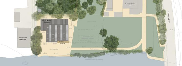 Clubhouse 150 site plan