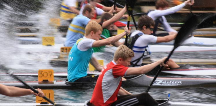 Canoe racing 2011